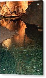 Onondaga Cave Acrylic Print