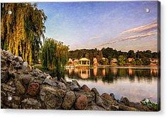 Onondaga Park Hiawatha Lake Acrylic Print