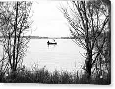 Ontario Fishing Trip Acrylic Print by Valentino Visentini