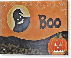 Oogie Boogie Boo Acrylic Print by Cindy Micklos