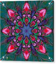 Ooh La La Acrylic Print by Jim Pavelle