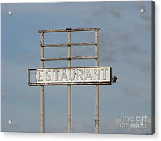 Acrylic Print featuring the photograph Open 24 Hours by Michael Krek