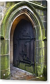 Open Church Door Acrylic Print by Jane McIlroy