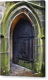 Open Church Door Acrylic Print
