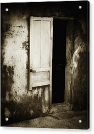 Open Door Acrylic Print by Skip Nall
