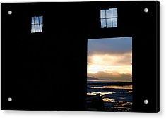Open Door Sunset - A Great Salt Lake Sunset Acrylic Print