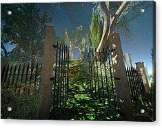Open Gate Beckons Acrylic Print