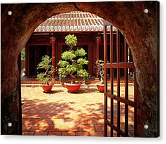 Open Gate Acrylic Print by Kim Andelkovic
