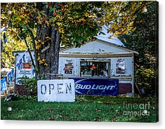 Open Or Closed Acrylic Print