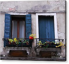 Open Or Closed Acrylic Print by Mel Steinhauer