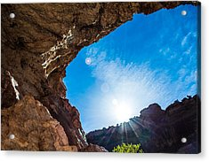 Acrylic Print featuring the photograph Open Promise by Rhys Arithson