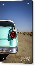 Open Road- Metal And Speed Acrylic Print
