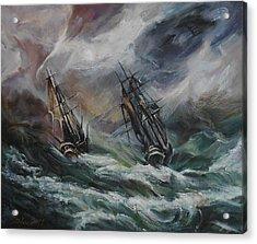 Open Sea - Dangerous Drift II Acrylic Print by Stefano Popovski