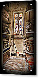 Open Tomb Structure In Buenos Aires Acrylic Print