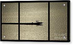 Open Waters Triptych Acrylic Print by Peter Piatt