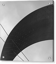 Acrylic Print featuring the photograph Opening Arch - Abstract by Steven Milner