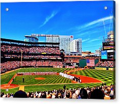 Opening Day 2014 In Baltimore Acrylic Print