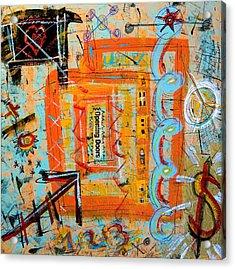 Opening Doors Acrylic Print by Debra Jacobson