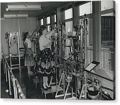 Opening Of The Warren Spring Laboratory... Research Into Acrylic Print by Retro Images Archive