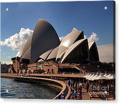 Acrylic Print featuring the photograph Opera House Famous by John Swartz