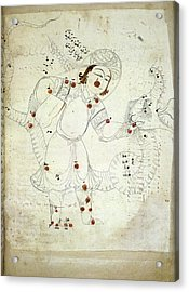 Ophiuchus Constellation Acrylic Print by British Library