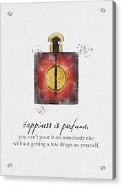 Opium Acrylic Print