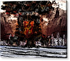 Oppenheimer's Legacy Acrylic Print