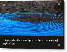 Opportunites Multiplied Acrylic Print by Omaste Witkowski