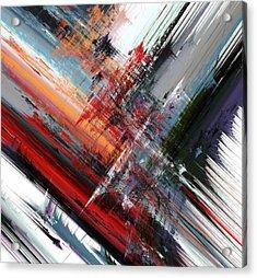 Opposing Angles Acrylic Print