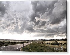 Opposite The Storm Acrylic Print