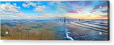 Opposites Attract Acrylic Print by Betsy Knapp