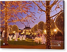 Opryland Hotel Christmas Acrylic Print by Brian Jannsen