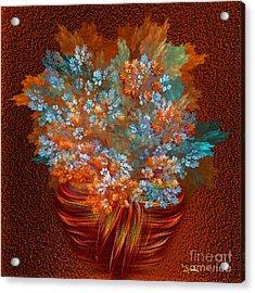 Optimistic Art - A Gift Of Joy By Rgiada Acrylic Print