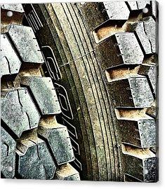 Optimus Prime's Tyres. #movies Acrylic Print