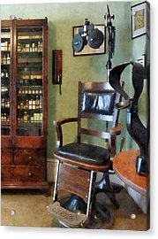 Optometrist - Eye Doctor's Office Acrylic Print by Susan Savad