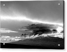 Acrylic Print featuring the photograph Oquirrh Range Utah by Ron White