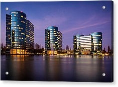 Oracle Campus In Silicon Valley Acrylic Print