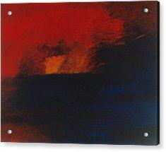 Orange 1985 Acrylic Print