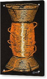 Orange 6 Acrylic Print by Joseph Hawkins