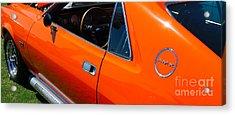 Orange Amx Acrylic Print