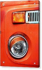 Orange Camper Van Acrylic Print