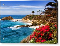Orange County Coastline Acrylic Print by Cliff Wassmann