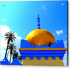 Orange Dome Acrylic Print