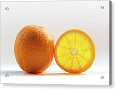 Orange Fruit Composition Acrylic Print