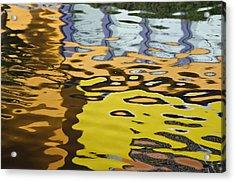 Orange House II Acrylic Print