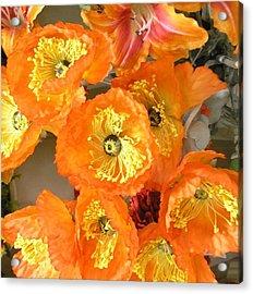 Orange Joy Acrylic Print