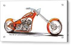 Orange N Tangy Acrylic Print by Paul Kim
