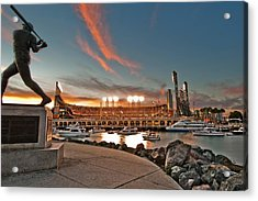 Orange October 2012 Celebrates The San Francisco Giants Acrylic Print