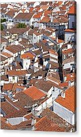 Orange Roofs Acrylic Print by Jose Elias - Sofia Pereira