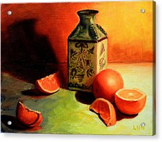 Orange Temptation Acrylic Print